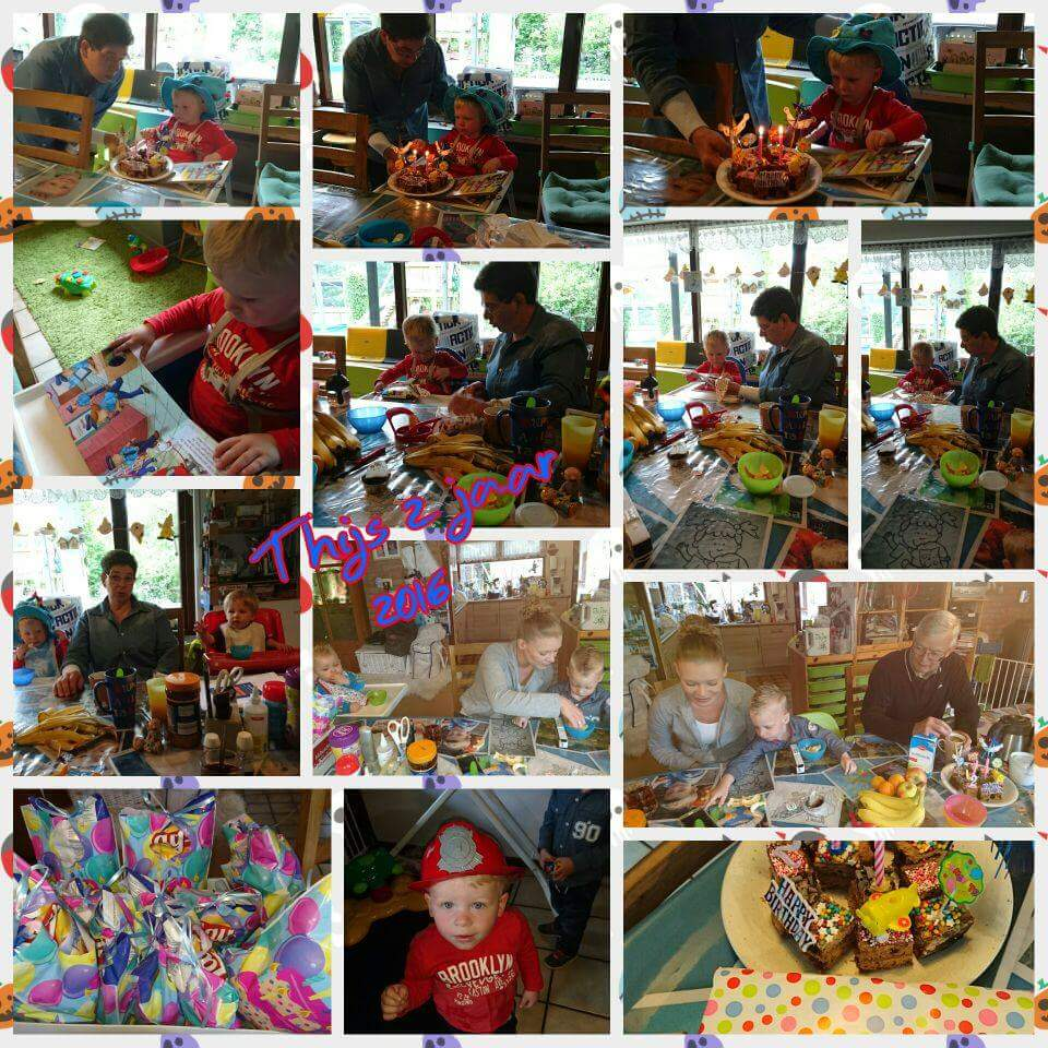 Verjaardag Thijs Bij Roos